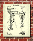 Outboard Motor Patent Print Boating Blueprint Outdoors Poster - OnTrendAndFab