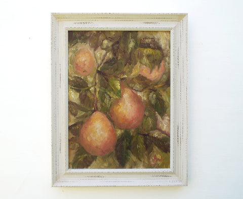 Pear Tree Framed Oil Painting Andi Lucas