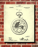 Pocket Watch Patent Print Time Keeping Wall Art Poster - OnTrendAndFab