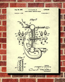 Rotary Engine Blueprint Automotive Car Patent Print Garage Poster - OnTrendAndFab
