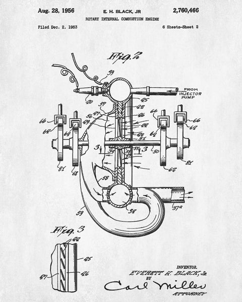 Rotary Engine Internal Diagram