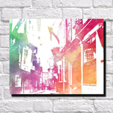 York Shambles City Skyline Print Landscape Poster Feature Wall Art