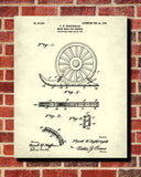 Snow Shoes Patent Print Car Blueprint Winter Sports Poster - OnTrendAndFab