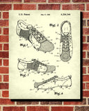 Soccer Shoe Patent Print Football Boot Blueprint Sports Poster - OnTrendAndFab