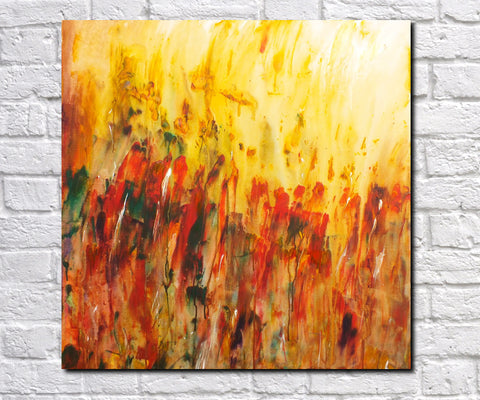 Original Painting James Lucas, Summer Days Abstract