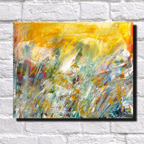 Abstract Art Print Feature Wall Art James Lucas: Summer Meadow