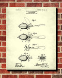 Tea Patent Print Strainer Blueprint Cafe Kitchen Poster