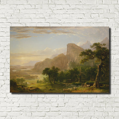 Asher Brown Durand, American Fine Art Print : Thanatopsis