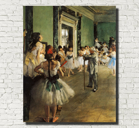 Edgar Degas, French Fine Art Print : Dancing Class