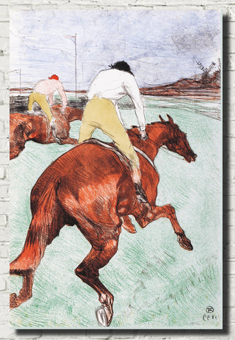Henri de Toulouse-Lautrec Fine Art Print, The Jockey