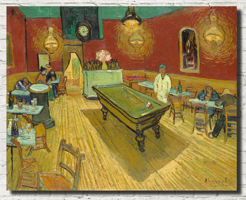 Vincent Van Gogh Fine Art Print, The Night Cafe