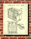 Toaster Patent Print Cafe Poster Kitchen Wall Art - OnTrendAndFab