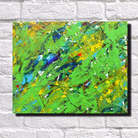 Abstract Art Print Feature Wall Art James Lucas: Undergrowth