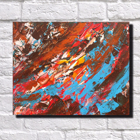 Abstract Art Print Feature Wall Art James Lucas: Upheaval