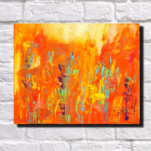 Abstract Art Print Feature Wall Art James Lucas: Urban Melody