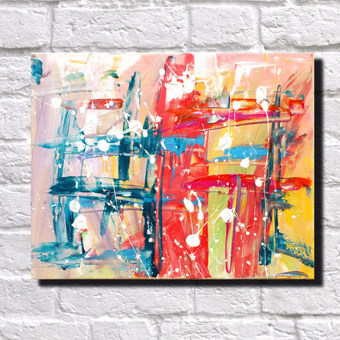 Abstract Art Print Feature Wall Art James Lucas: Urban