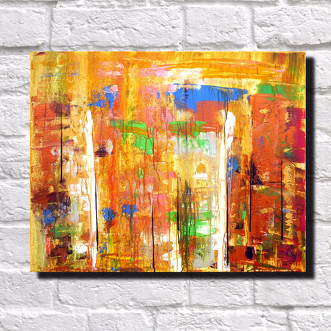 Abstract Art Print Feature Wall Art James Lucas: Urban Rain