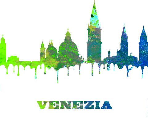 Venice City Skyline Print Wall Art Poster Italy - OnTrendAndFab