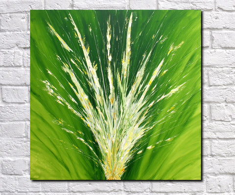 Abstract Art Print Modern Art Feature Art James Lucas: Verdant Invigoration