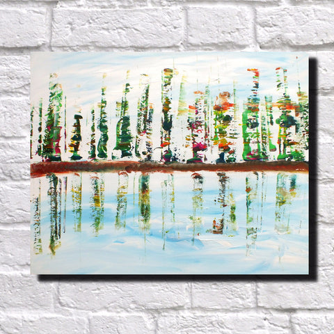 Abstract Art Print Feature Wall Art James Lucas: Waterfront