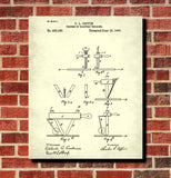 Welding Patent Print Welder Blueprint Workshop Poster