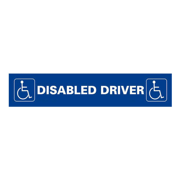 Disabled Driver Sticker - Pie Guides