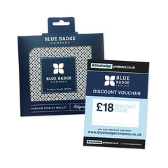Blue Badge Wallet