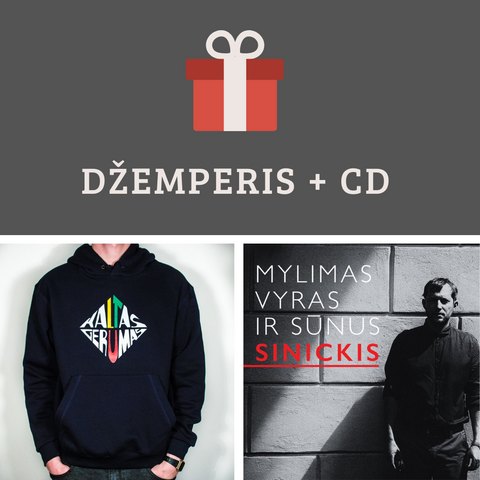 RINKINYS: Džemperis + CD