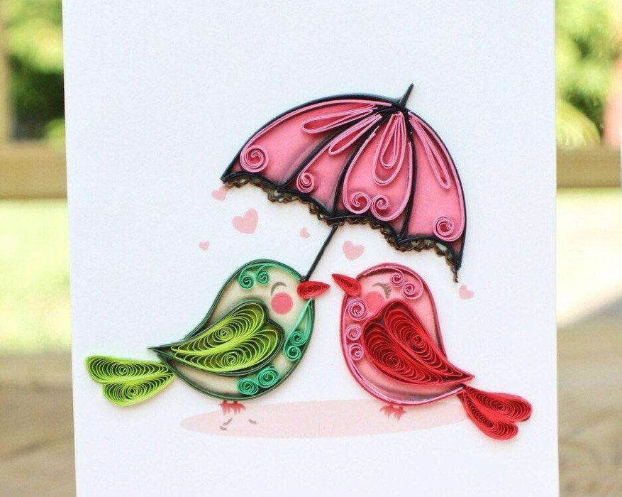 Birds & Umbrella