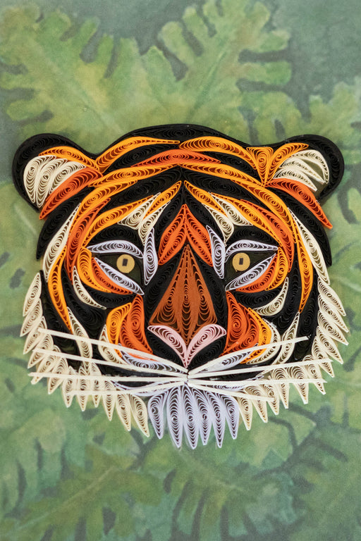 Tiger-ific Quilling Card - UViet Store