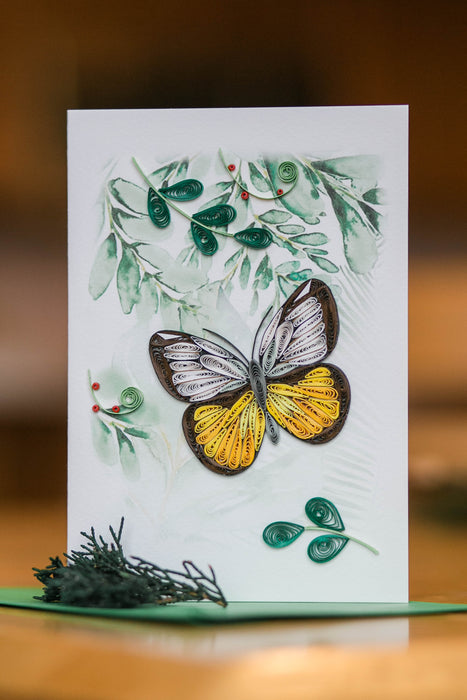 Butterfly Blessings Quilling Card - UViet Store