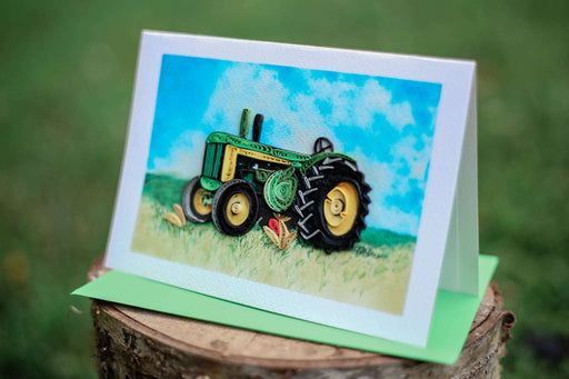 Tractor Quilling Card - UViet Store