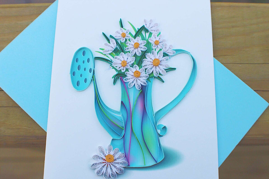 Daisies Quilling Card - UViet Store