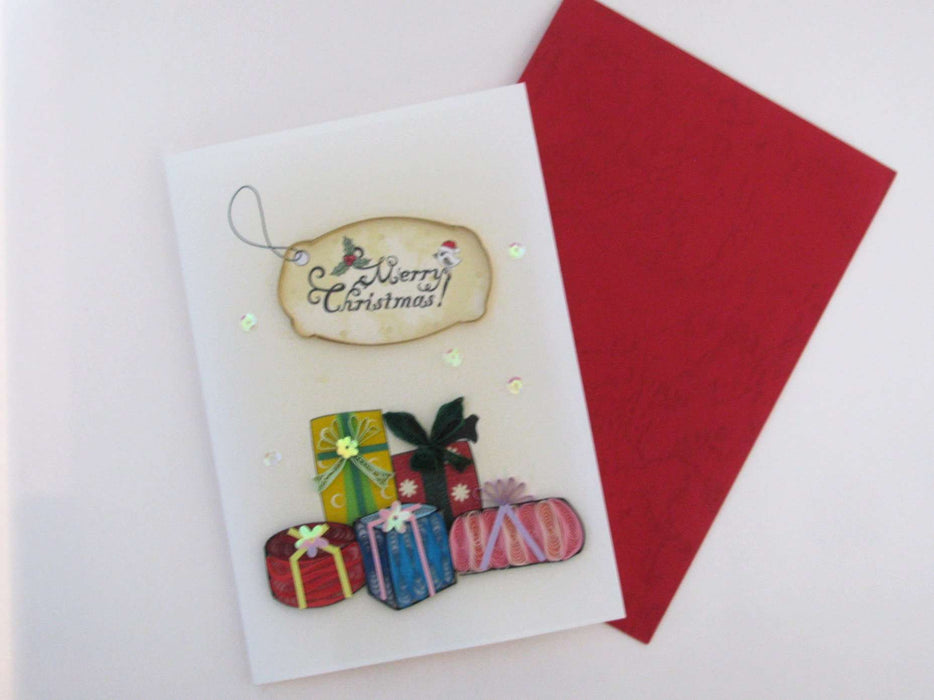 Christmas Gifts Quilling Card - UViet Store