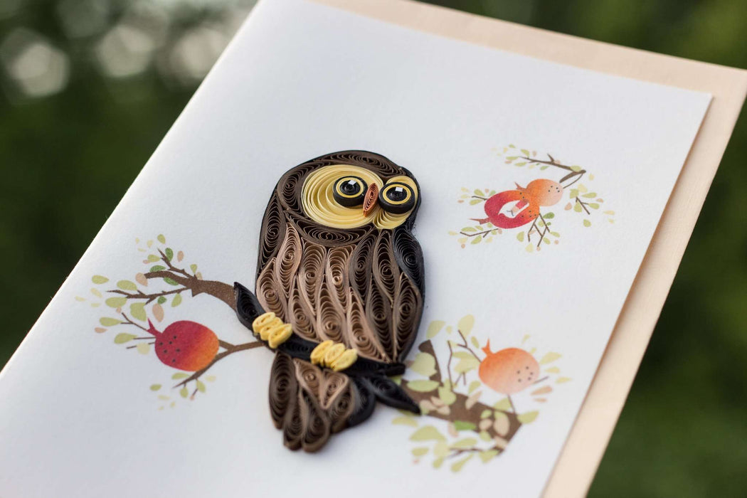 Whooo's Special? Quilling Card - UViet Store