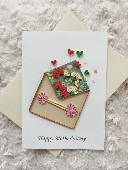 Happy Mother's Day Quilling Card - UViet Store