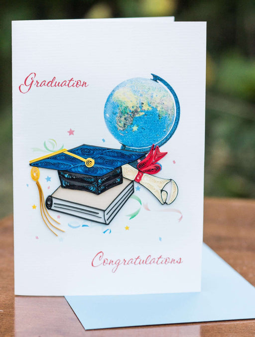 Graduation Congratulations Quilling Card - UViet Store