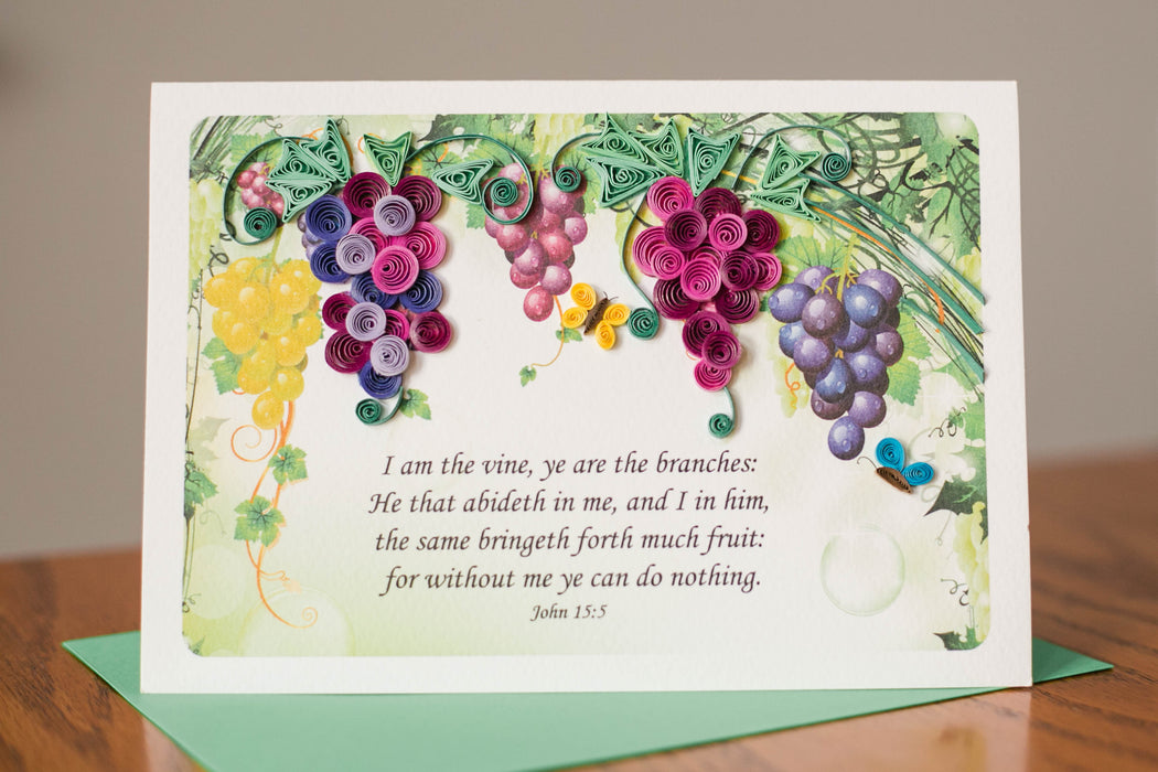 The Vine Quilling Card - UViet Store