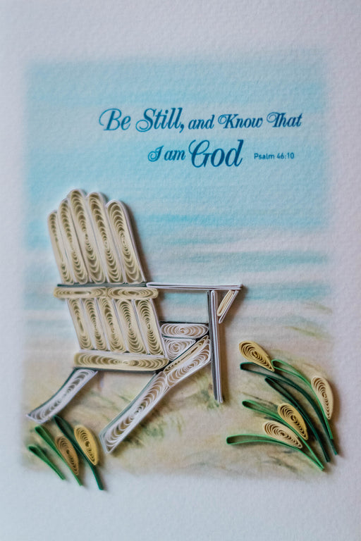 Be Still Quilling Card - UViet Store