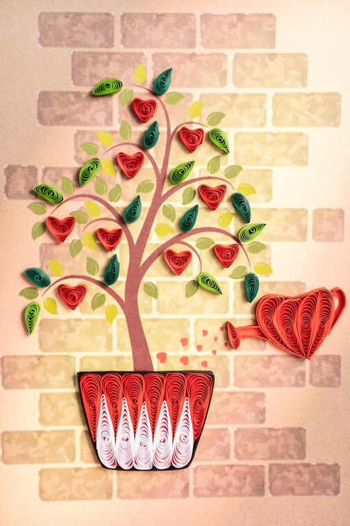 Love Tree Quilling Card - UViet Store