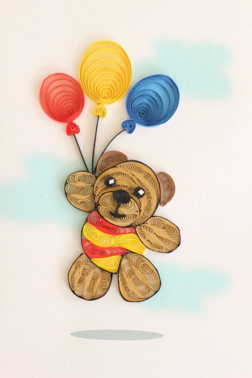 Beary Special Quilling Card - UViet Store
