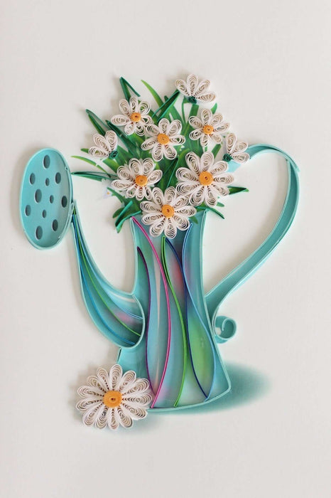 Daisies (Mini) Quilling Card - UViet Store