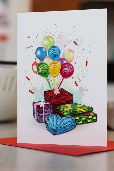 Gifts Galore Quilling Card - UViet Store