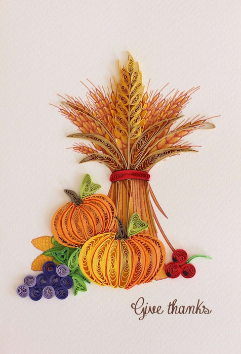 Give Thanks Quilling Card - UViet Store