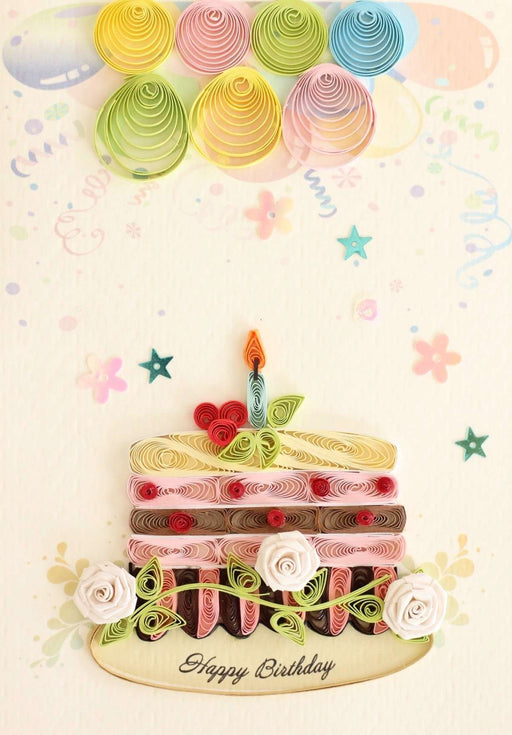 Have Some Cake Quilling Card - UViet Store