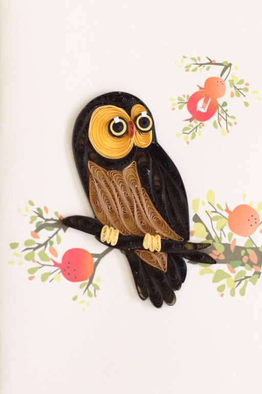 Whooo's Special? (Mini) Quilling Card - UViet Store