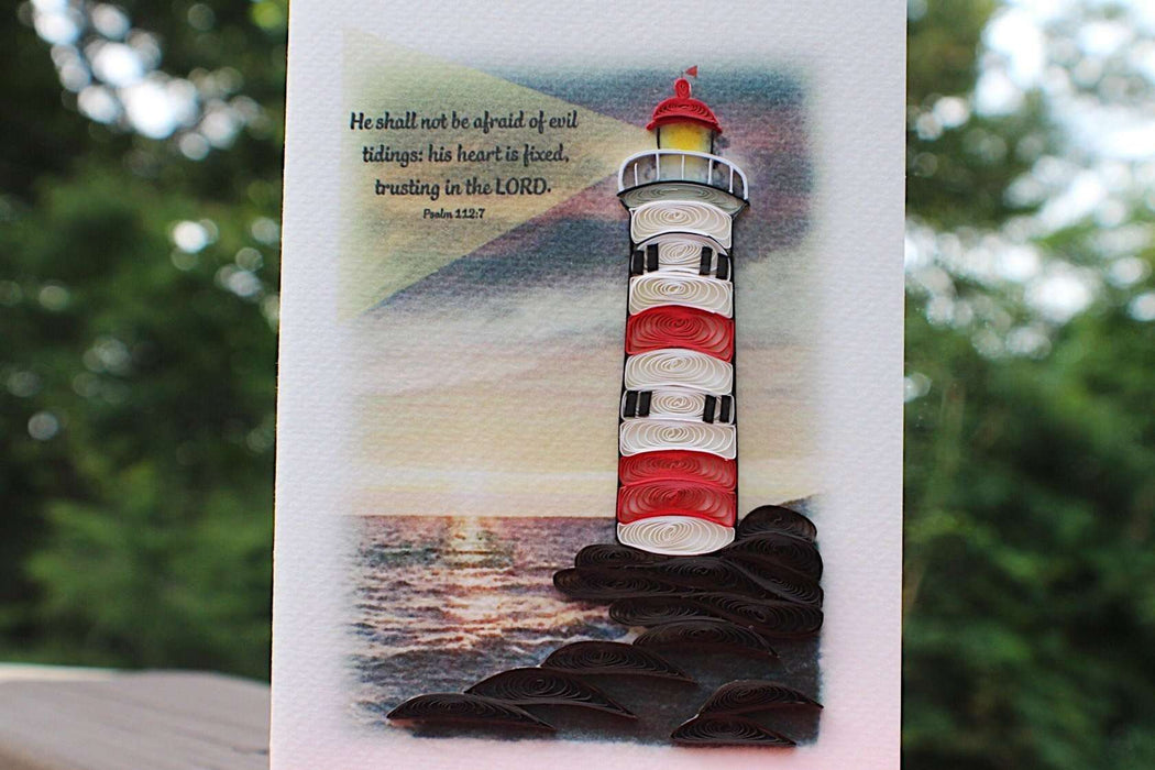 Lighthouse Quilling Card - UViet Store