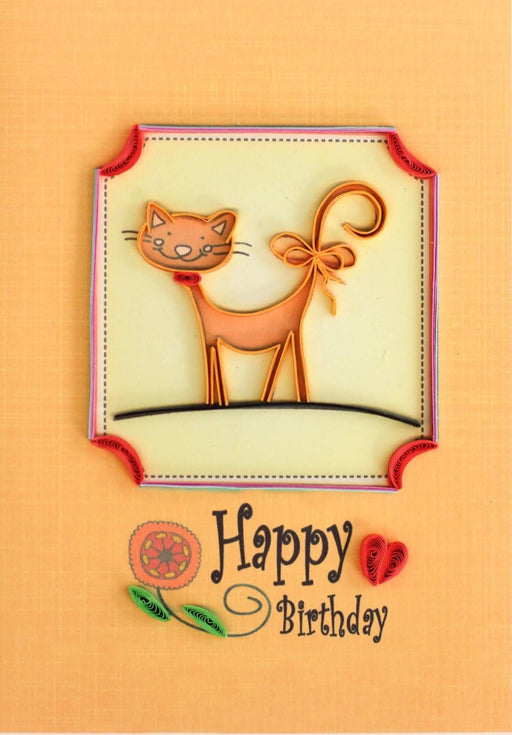 Have a Puuurfect Birthday Quilling Card - UViet Store