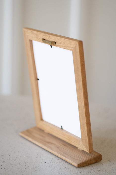 Mahogany Frame with Sage Matte