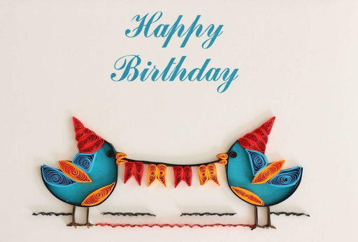Tweet Birthday (Mini) Quilling Card - UViet Store